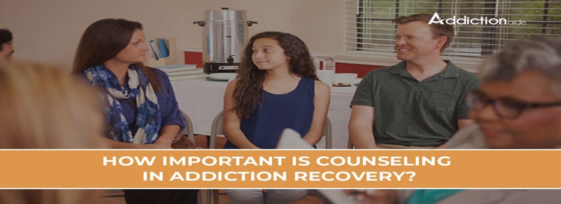 How Important Is Counseling In Addiction Recovery